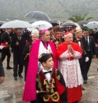 Doček papinog izaslanika, kardinala Franc  Rodea