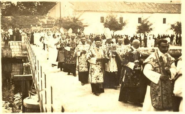 Procesija prigodom proglašenja blaženom Ozane, 1930.